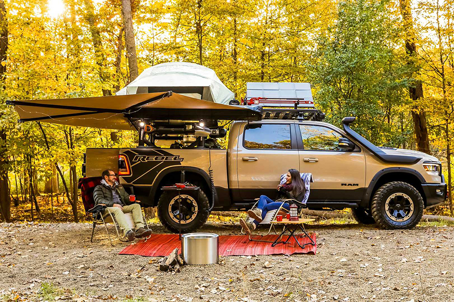 Ram 1500 Rebel OTG Concept off the grid truck