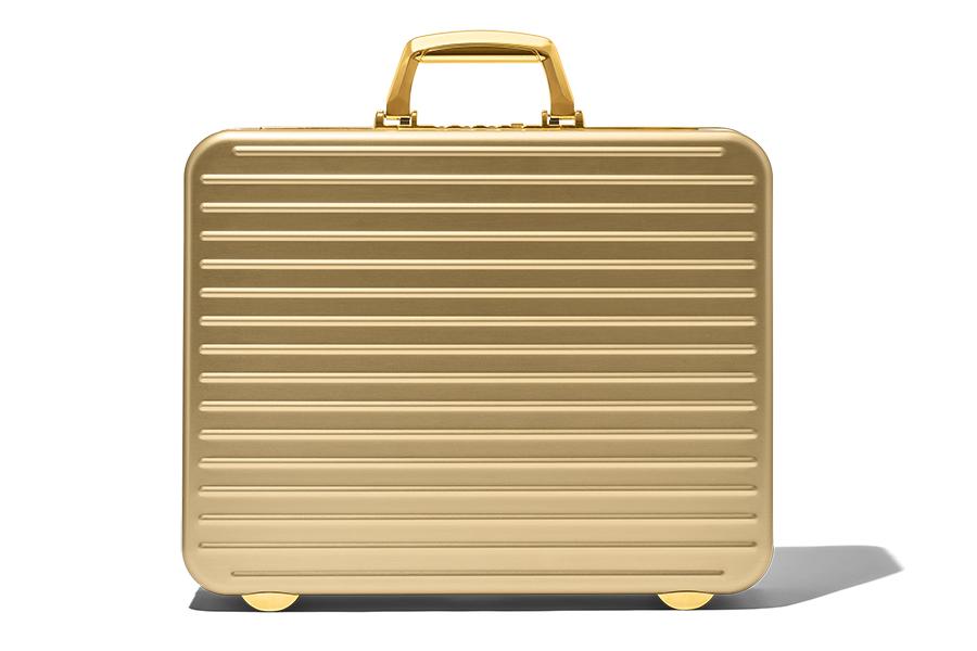 Rimowa Attache Gold Briefcase