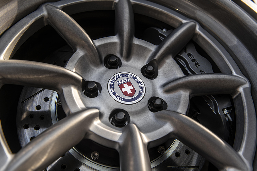 Robert Downey custom mustang wheel parts