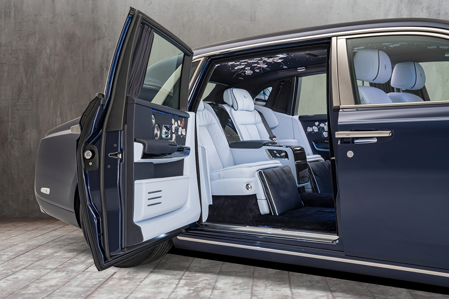 Rolls-Royce best interior design vehicle