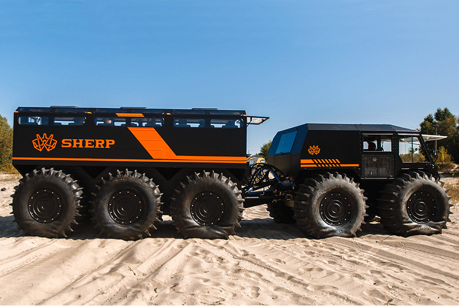 Sherp The Ark 22-Person ATV vehicle