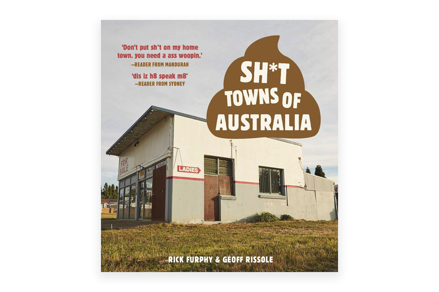 Shit towns of Australia book cover