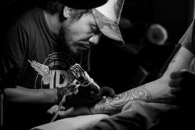 Tatto artist tattoo for men