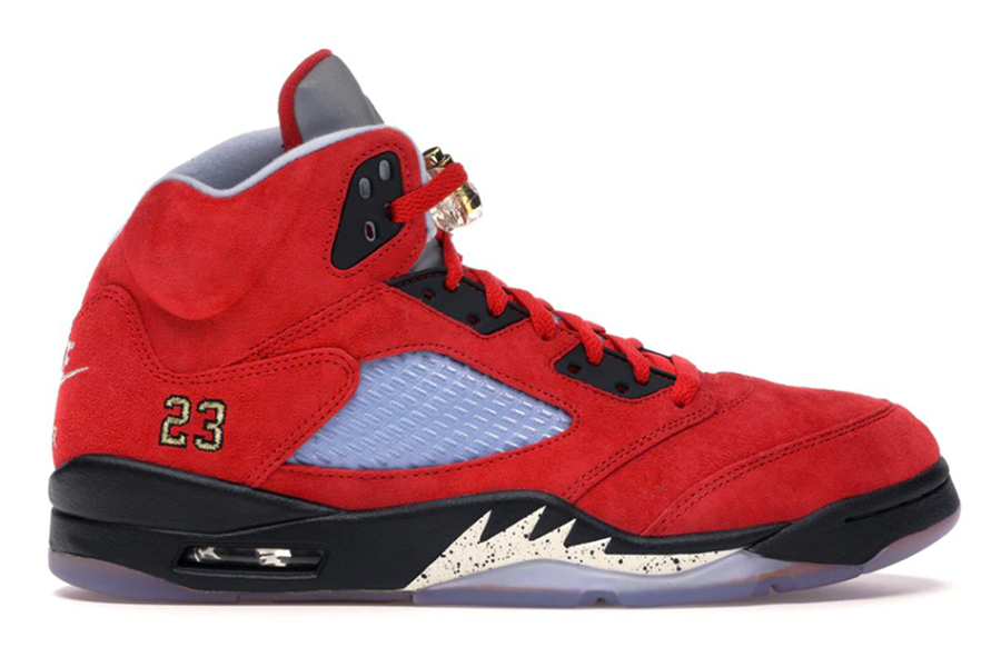 Trophy Room x Air Jordan V Friends and Family most valuable sneakers