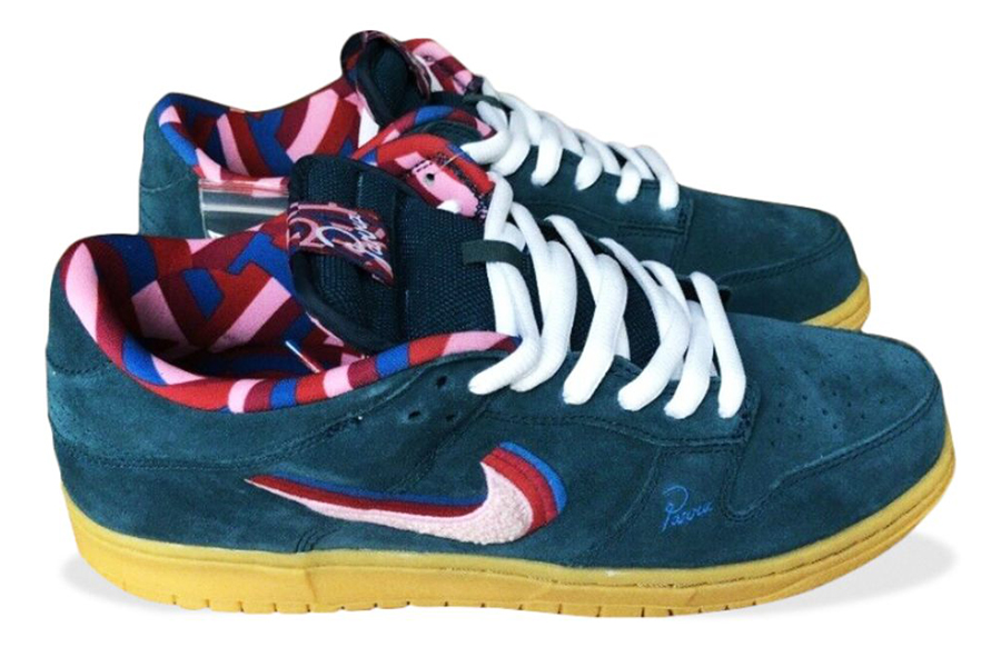 most valuable sneakers Parra x Nike SB Dunk Low Friends and Family
