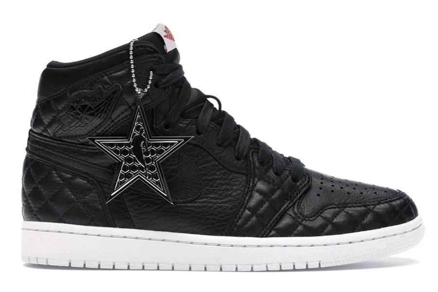 "most valuable sneakers Air Jordan 1 ""Charlotte Hornets Foundation Black"""