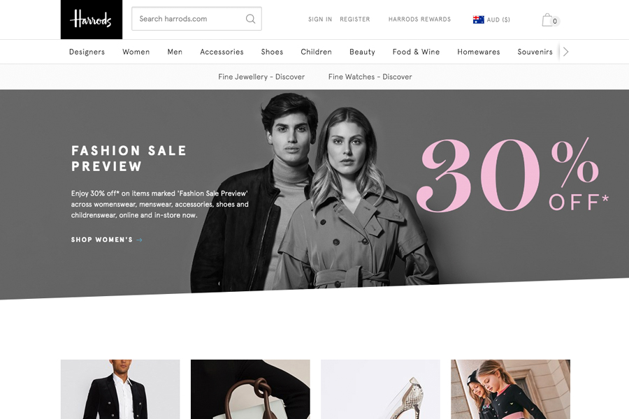 Top 19 Luxury Shopping Sites For Designer Labels Man Of Many