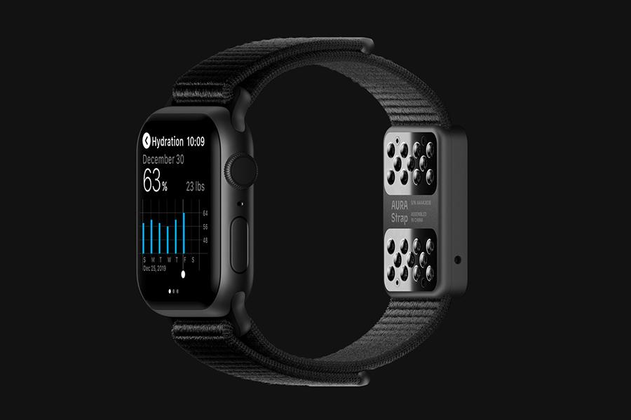 aura strap for apple watch