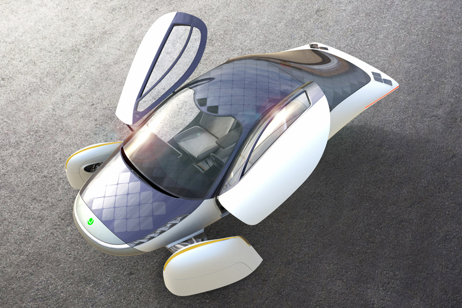 Aptera Motors' Solar-Powered EV