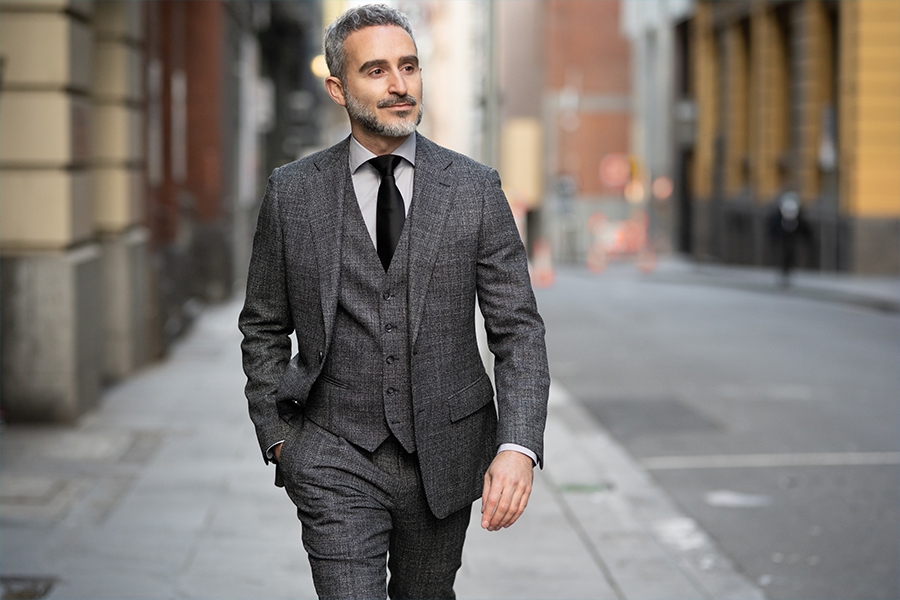 Best men's suits Melbourne - Godwin Charli