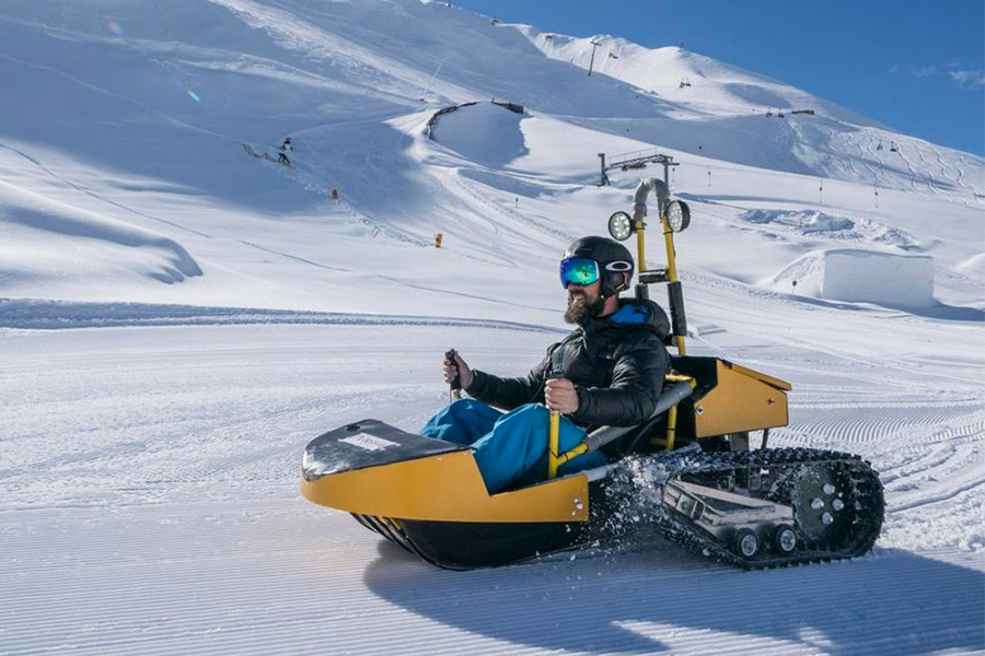 electric snow kart