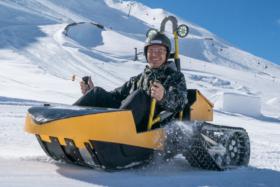 Bobsla Electric Snow Kart