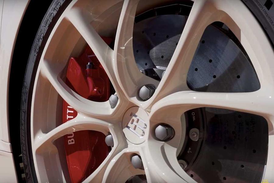 Bugatti X Hermes Chiron Coupe wheel