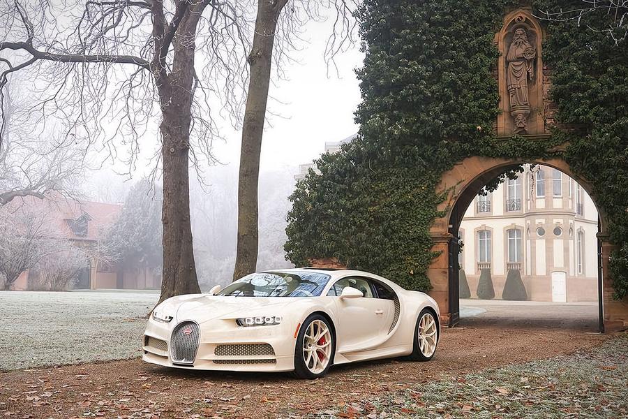 Bugatti X Hermes Chiron Coupe