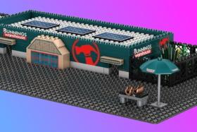 Bunnings Lego model