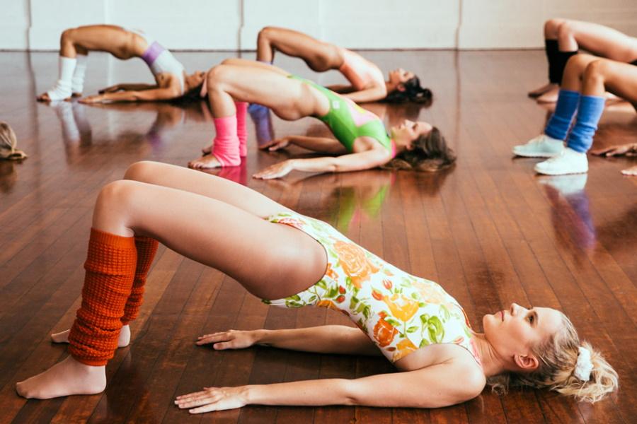 Flashdance inspired photo shoot