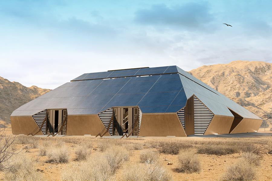 Cyberhouse archetictural design