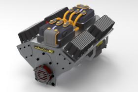 Electric GT Crate Motors side view