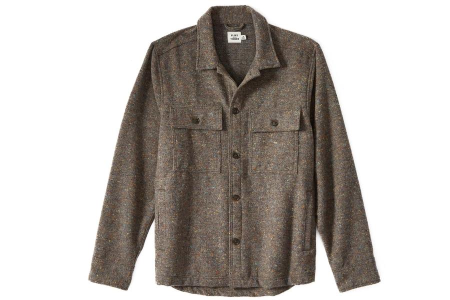 Flint and Tinder Wool CPO Shirt