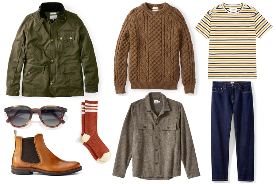 Products from Huckberry Finds January 2020 Wardrobe Revamp