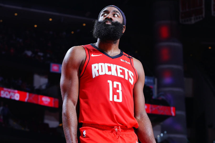 James Harden Houston Rockets player