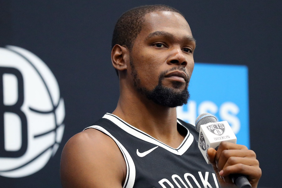 Kevin Durant Brooklyn Nets player