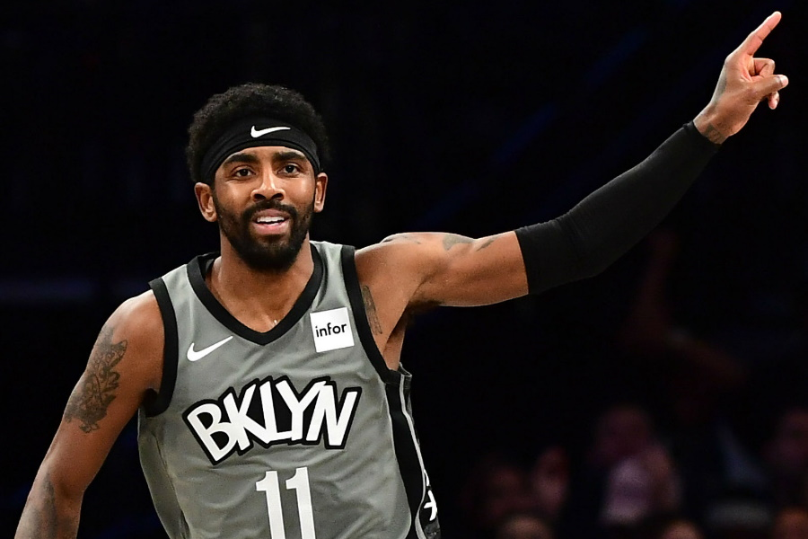 Kyrie Irving Brooklyn Nets player