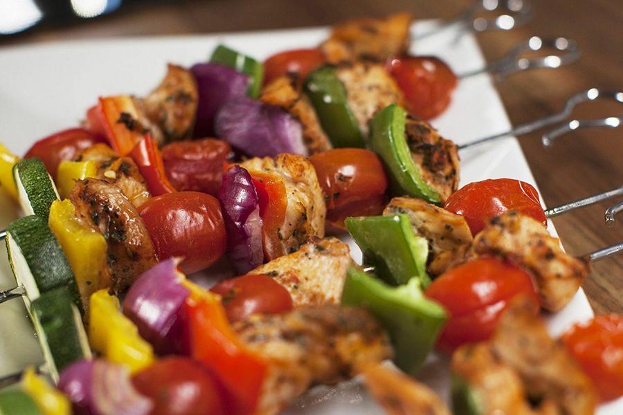 chicken meat grill kebab
