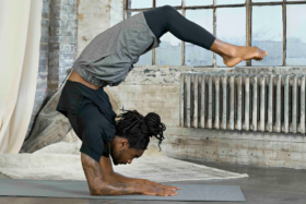 Nike's latest yoga collection introduces the company's latest fabric innovation, Infinalon