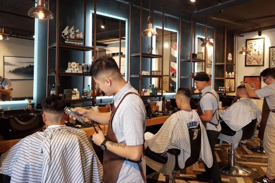 peaky barbers shop brisbane