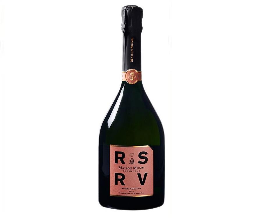 RSRV Rosé champagne