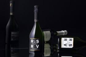 mumm RSRV champagne bottles