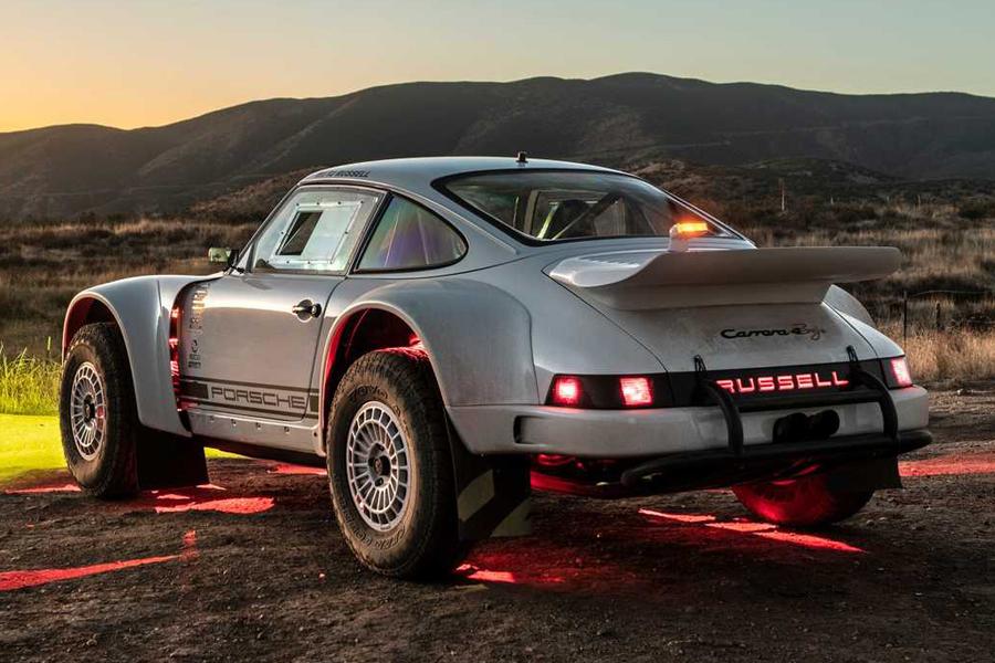 Russell Built Porsche 911 back