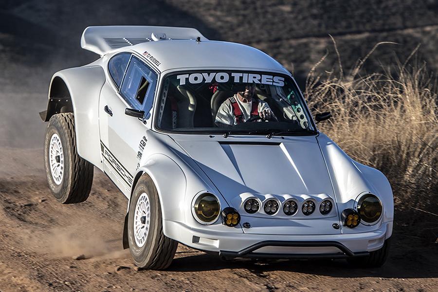 Russell Built Porsche 911 front