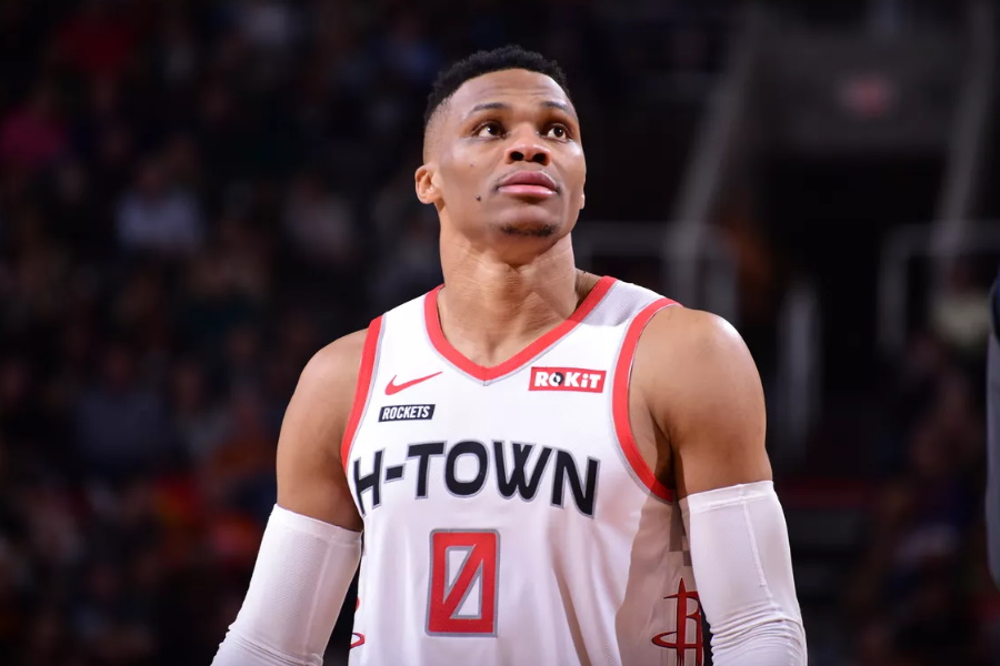 Russell Westbrook Houston Rockets player