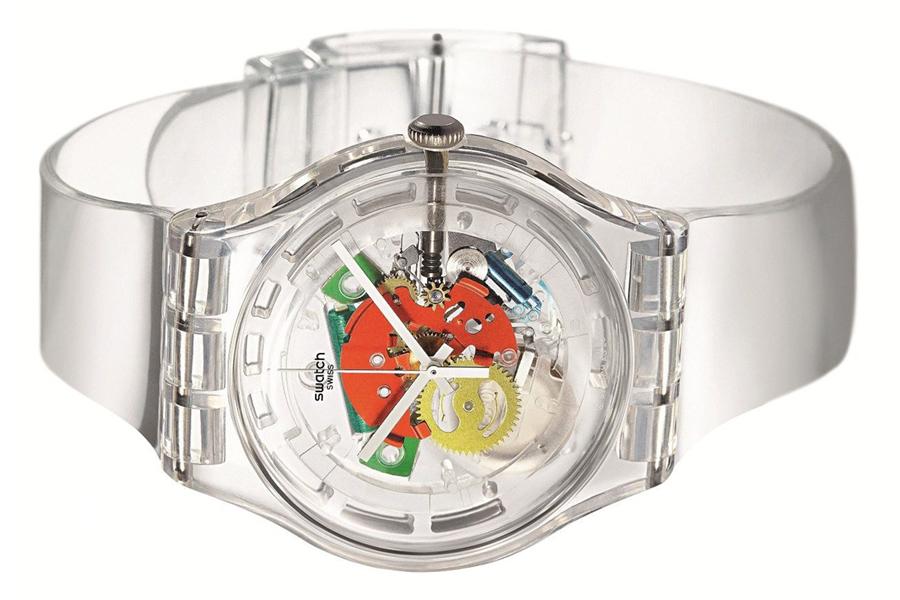 swatch jellyfish watch