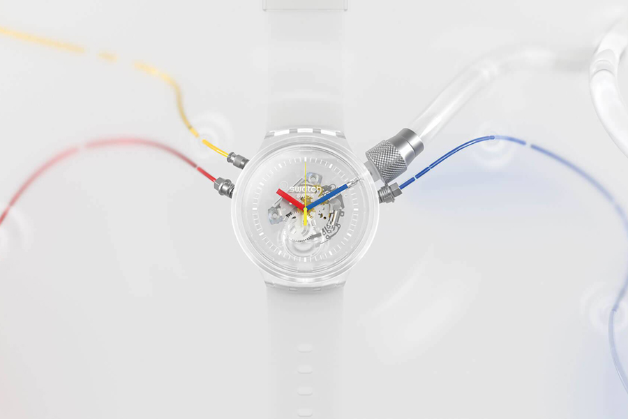 swatch big bold jellyfish watch