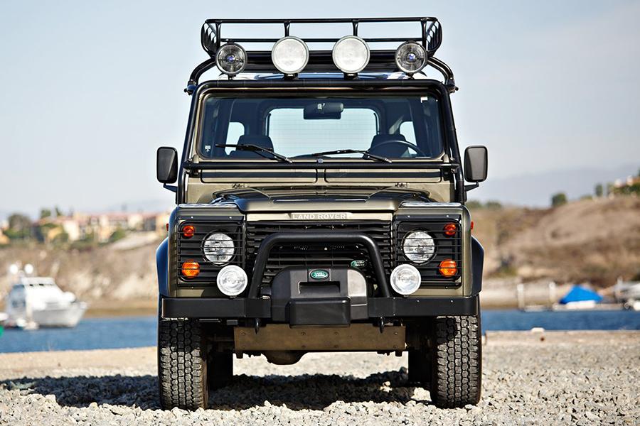 land rover NAS defender front