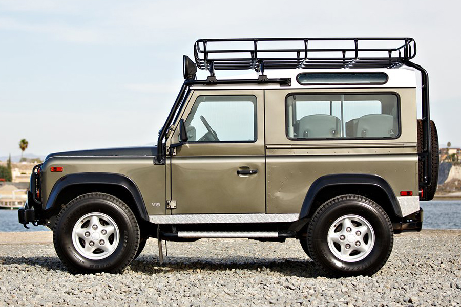 land rover NAS defender vehicle