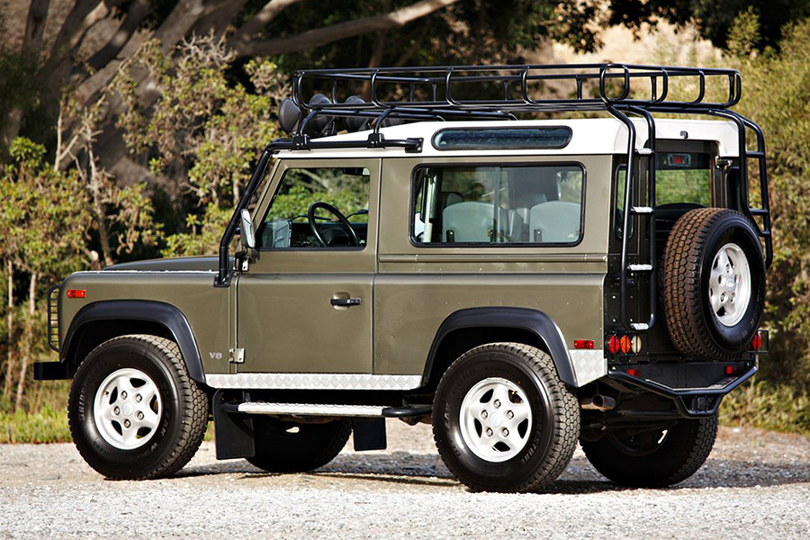 land rover NAS defender