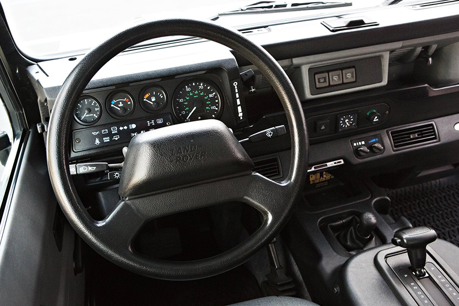 land rover NAS defender steering wheel