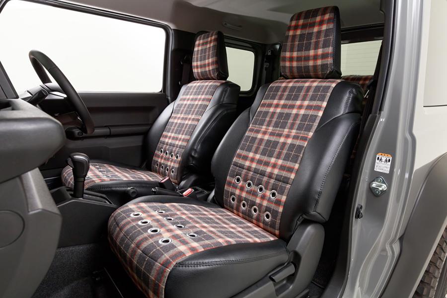 Suzuki Jimny car seat upholstery