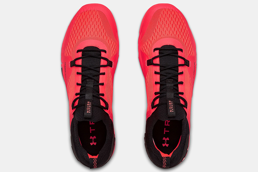 Under Armour training shoe top view