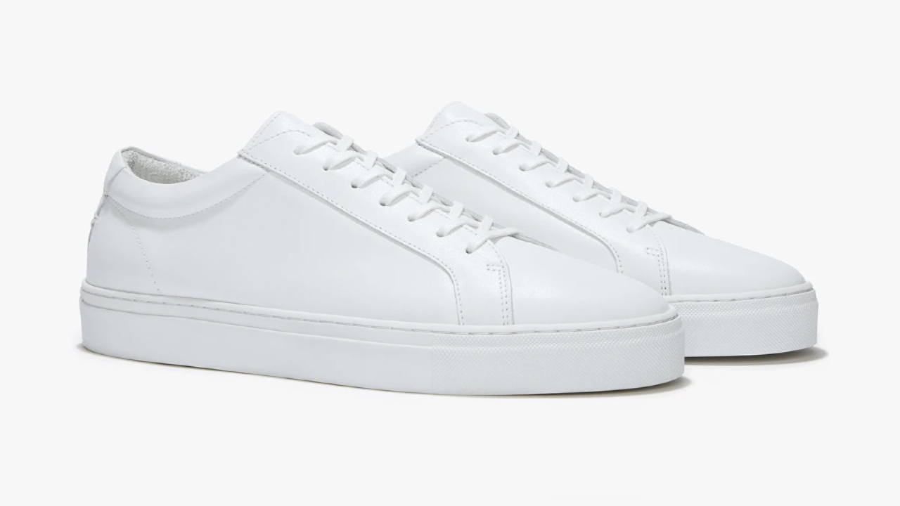 Affordable Luxury Leather Sneakers are