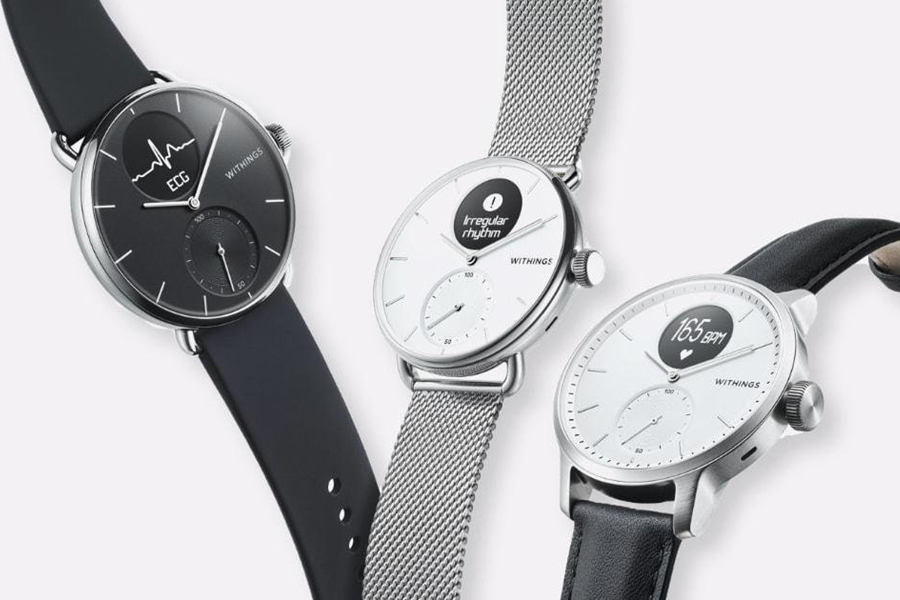 Withings ScanWatch Offers ECG and Sleep Apnea Detection
