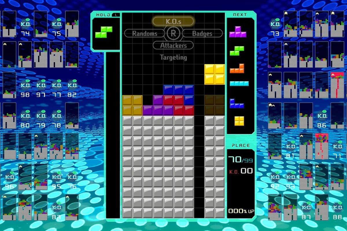 Best online games tetris 99