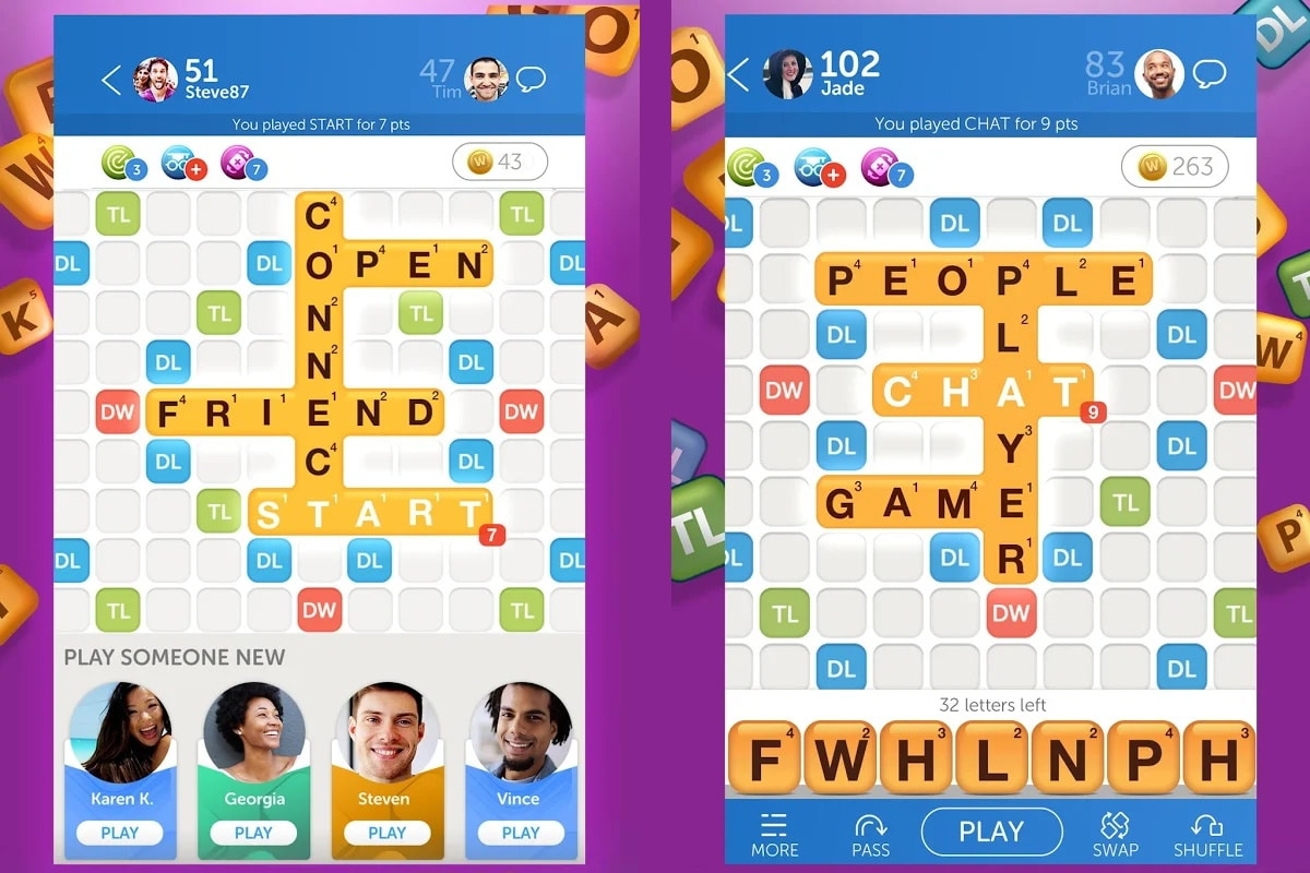 Best online games words with friends 2