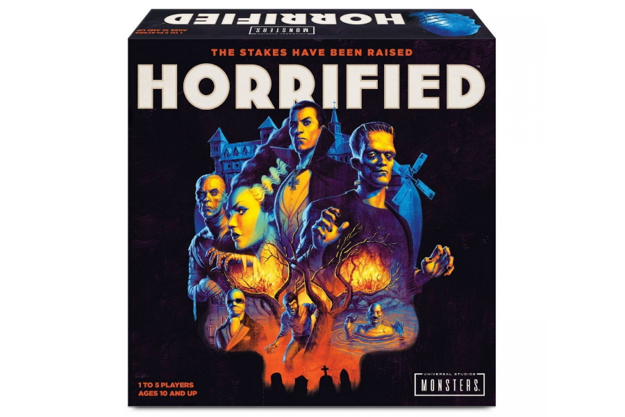 horrified board game box
