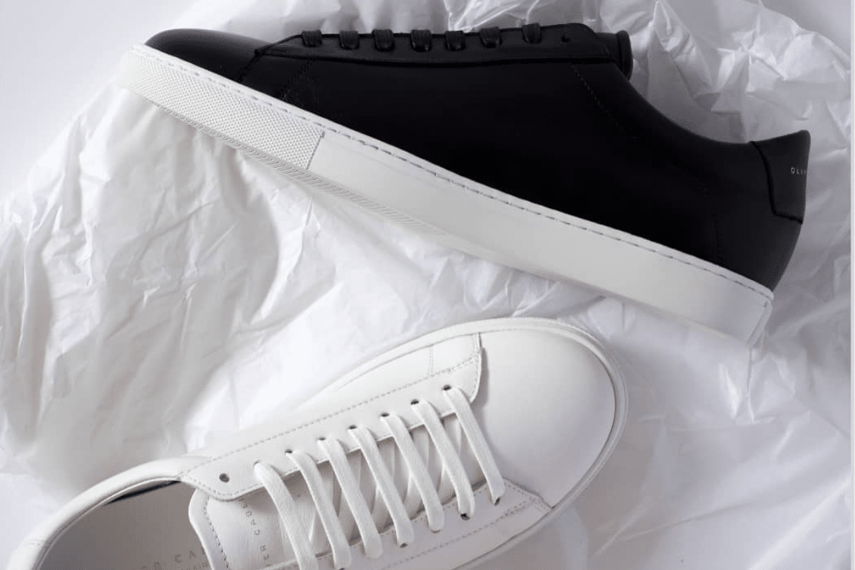 Oliver cabell low 1 black in wrapping
