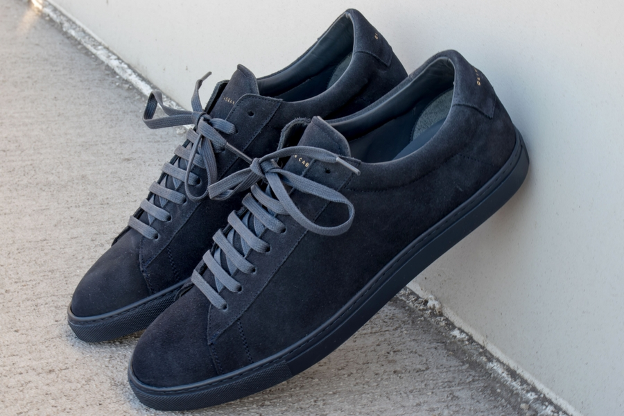 oliver cabell low 1 navy suede